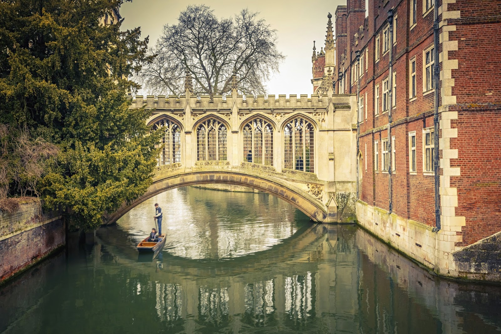 Punting on The Cam Cambridge