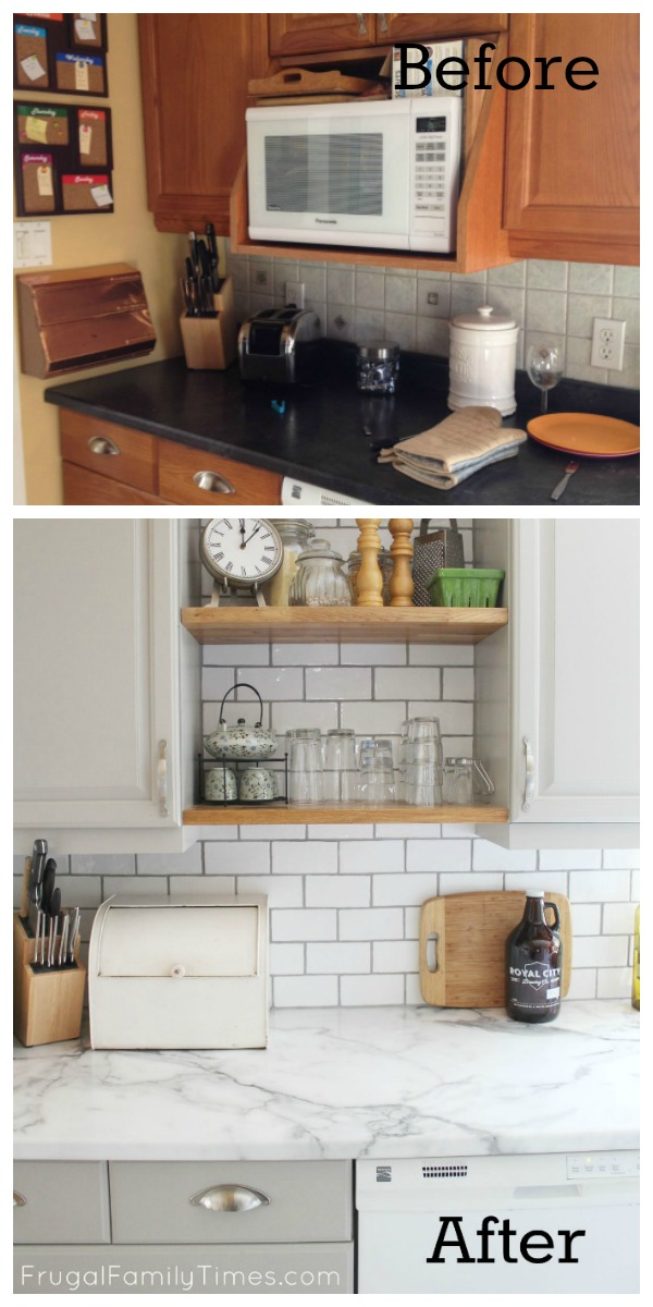What Do You Do When Youu0027ve Got A Dated Golden Oak Kitchen, But Not The  Budget To Replace It? What If Those Same Cabinets Are In Too Good Of Shape  To ...