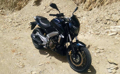 Bajaj Dominar 400 spy shot