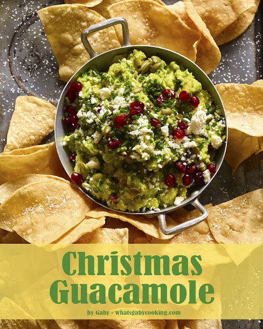 Best Christmas guacamole Recipe