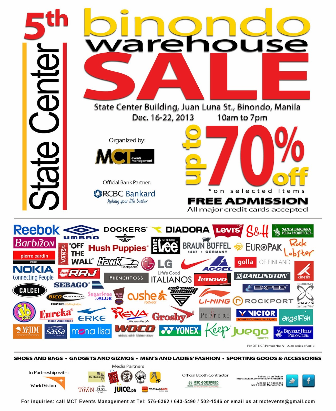 1b5daf357edb Manila Life  The 5th Binondo Warehouse Sale at State Center!