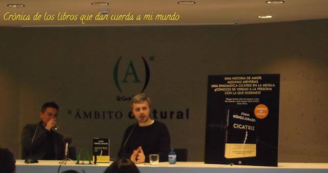 presentación, cicatriz, Juan Gómez Jurado