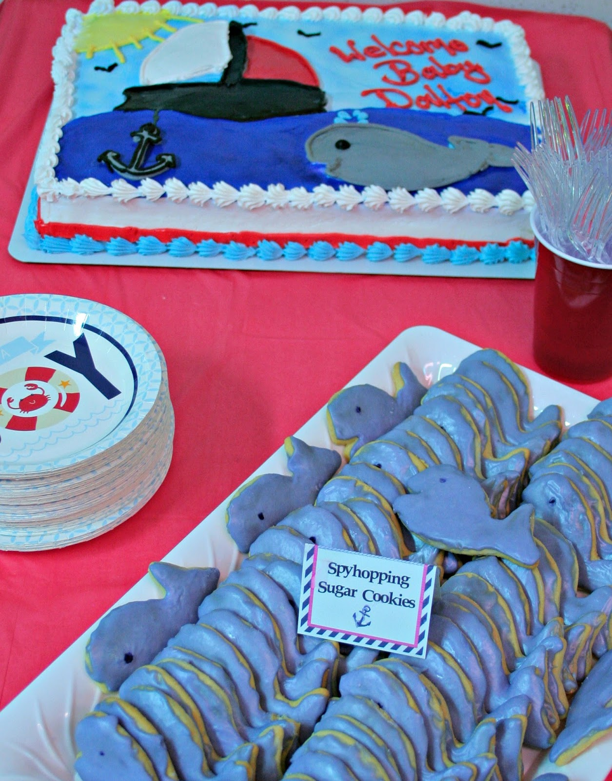 Ahoy It s A Boy Nautical Baby Shower OrientalTrading We Got