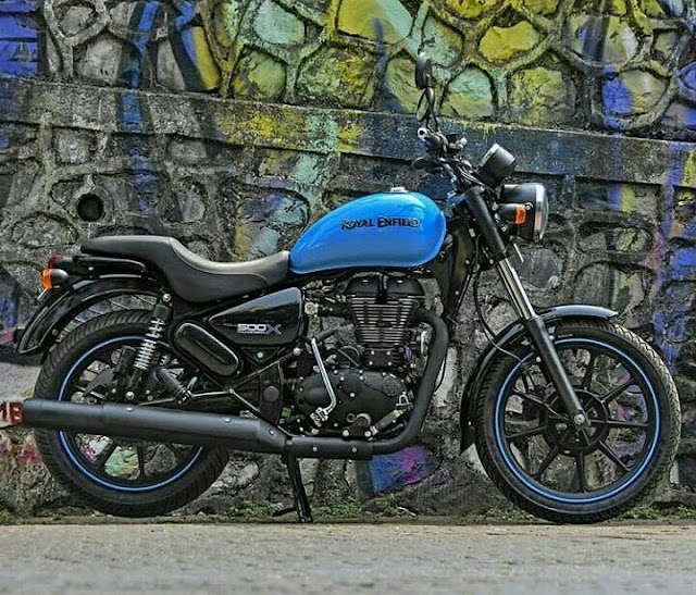 Royal Enfield Thunderbird 500X Blue image