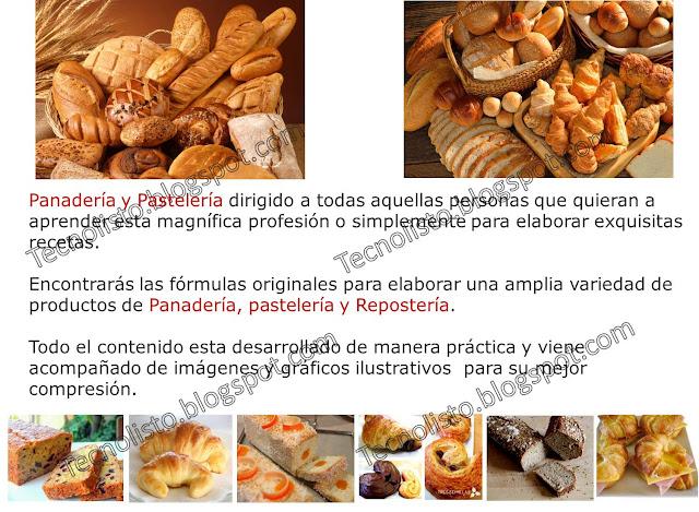 """""""Curso, manual, hacer pan casero, panadería"""""""