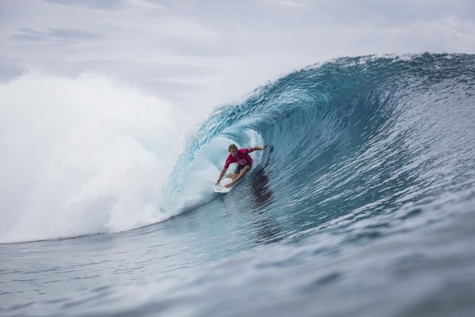 12 John John Florence HAW Billabong Pro Tahiti 2016 foto wsl Poullenot Aquashot
