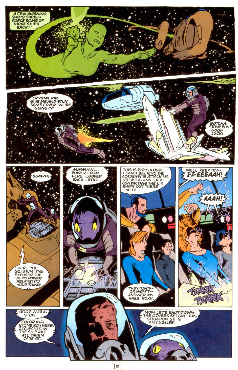 Legion of Super-Heroes (1989) 54 Page 10