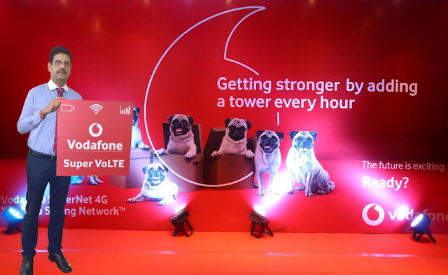 VODAFONE LAUNCHES VoLTE IN Uttar Pradesh (E)