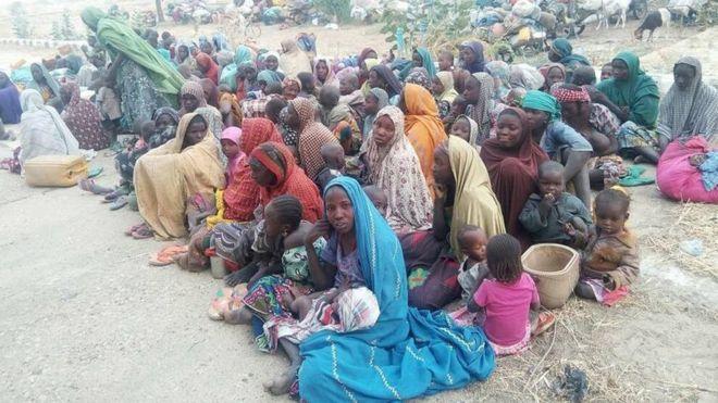 Nigerian army says 700 Boko Haram captives have escaped