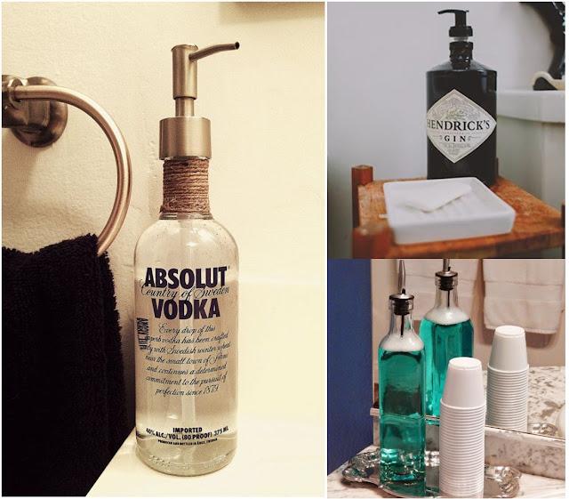Ideas para decorar con botellas de vidrio for Ideas para reciclar botellas de vidrio