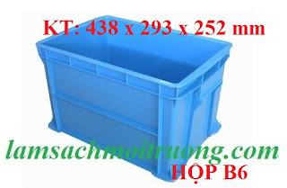 Hộp nhựa B6, hộp đựng linh kiện, hộp nhựa cơ khí giá rẻ