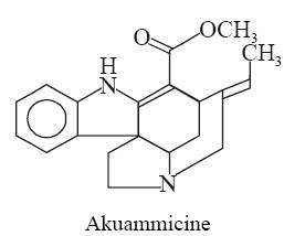 Akuammicine