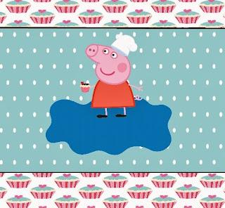 Peppa Pig Cooking Free Printable Kit.