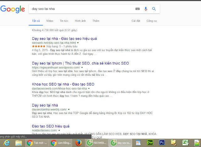 Đứng TOP đầu Google là quá trình không hề dễ dàng