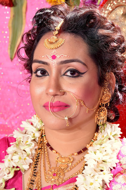 Bengali Bridal reception Makeup