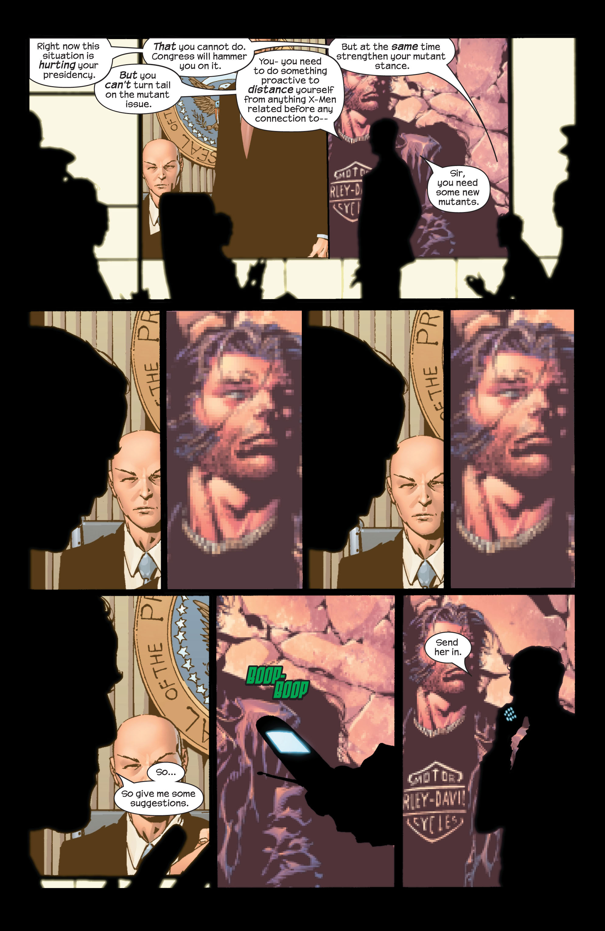 Read online Ultimate X-Men comic -  Issue #42 - 17