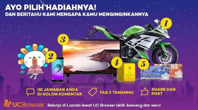 Game Berhadiah Motor Sport di Bulan Ramadhan