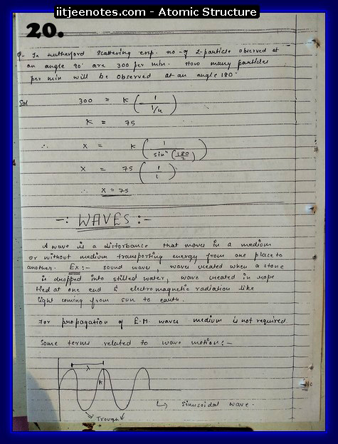 Atomic Structure Notes3