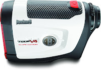 Bushnell Tour V4 Slope Jolt Rangefinder, range from 5 to 1000 yards and 400 yards to flag, with PinSeeker and Jolt technology, 5x magnification