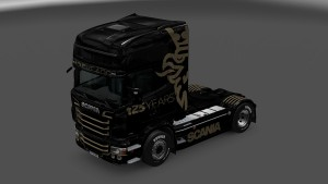125 Years Skin for Scania RJL
