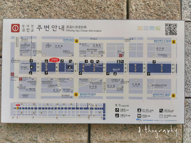 cheonggyecheon stream information