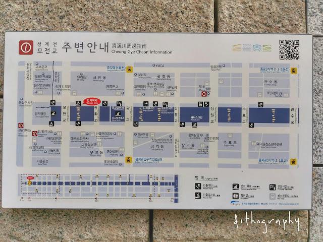 cheonggyecheon stream information