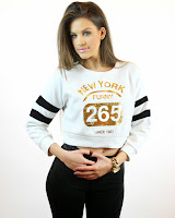 Pulover Scurt New York Funny 265