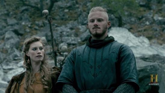 Vikings: Aslaug e Bjorn