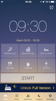 sleep better l 39 app pour suivre les cycles du sommeil. Black Bedroom Furniture Sets. Home Design Ideas