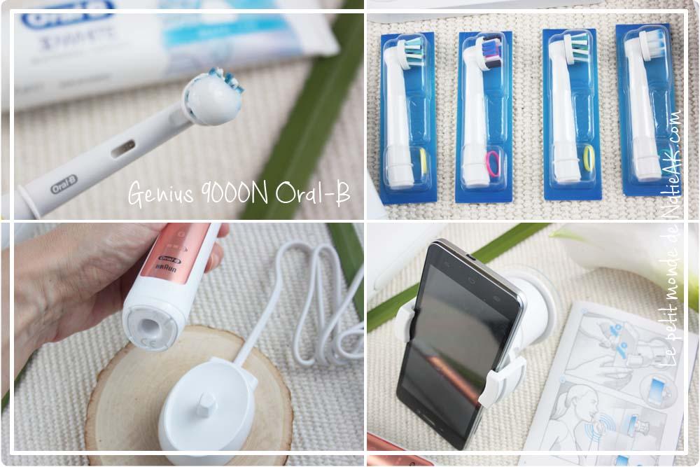 Brosse à dent électrique connectée