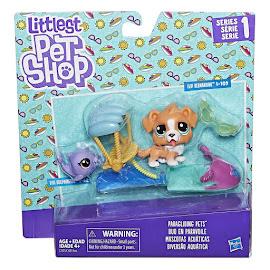 LPS Series 1 Adorable Adventures Flip Bernardio (#1-109) Pet