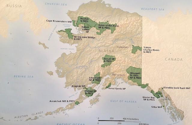 Jun 10 -Jul 11 Sitka, Denali, Yukon River-Charley, Wrangell-St ... Yukon Map Of The Vally on