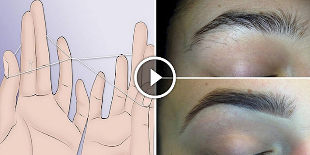 How To Use Thread To Shape Your Eyebrows Very Fast