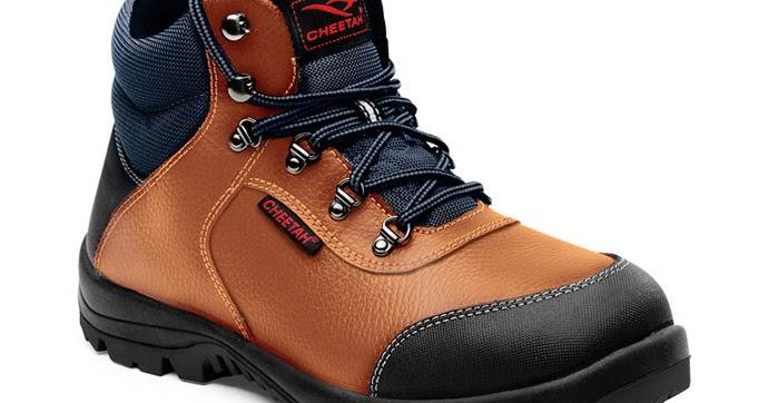 Jual Sepatu Safety Cheetah Online 5101 Coklat 13b37b9364