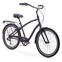 Sixthreezero Men's EVRYjourney Hybrid Cruiser Bike, matte black
