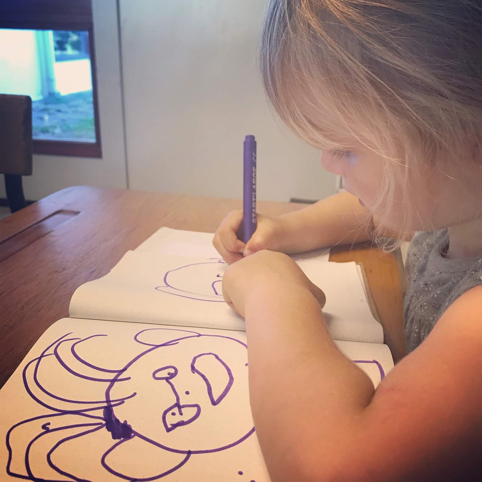 dessin enfant 4 ans