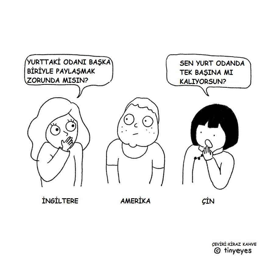 Karikatürler | Uzak Doğu ve Batı Ülkeleri Çok Mu Farklı?