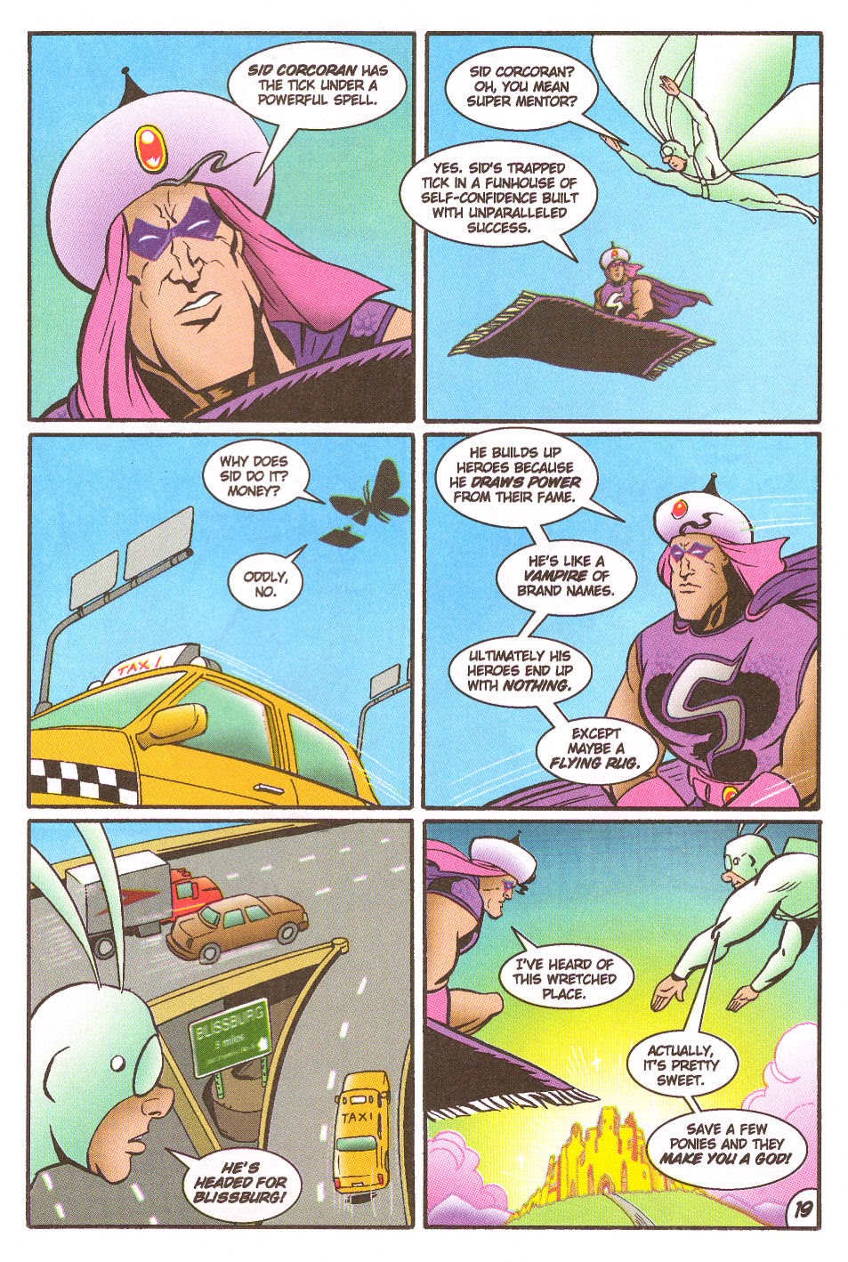 Read online The Tick: Days of Drama comic -  Issue #5 - 21