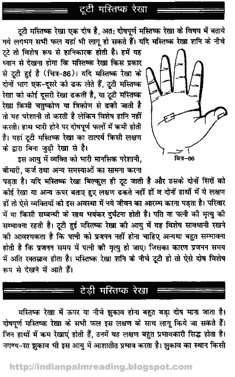 hast line in hindi