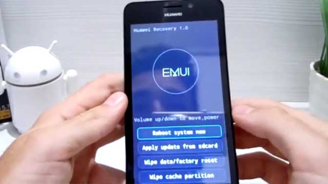 hard reset Huawei Ascend Y635