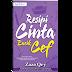 Novel Resepi Cinta Encik Cef Karya Zaza Qry
