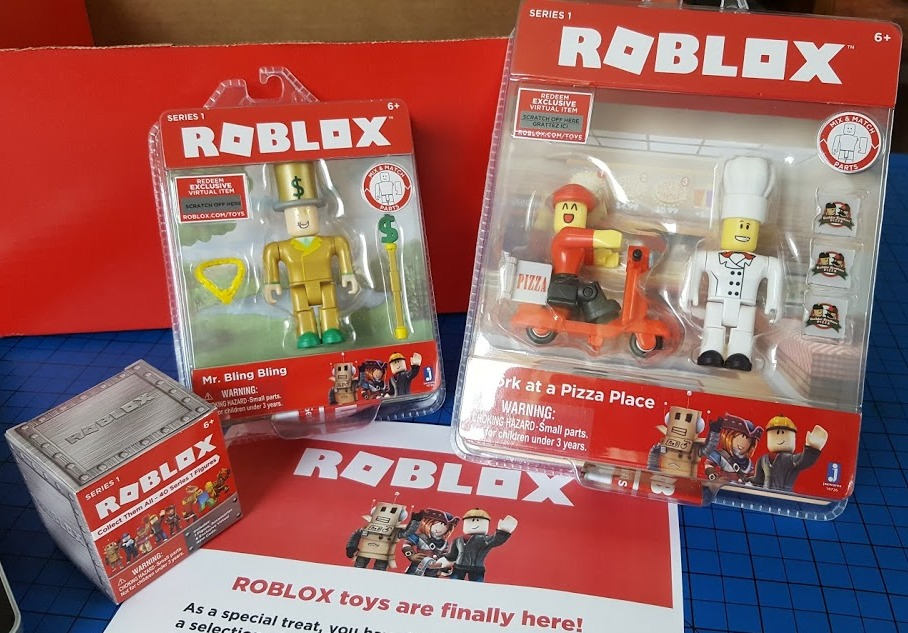 The Brick Castle Roblox Toys Series 1 From Jazwares Review Age 6