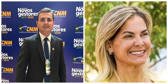 Prefeita eleita de Alexandria, Geane Ferreira, poderá ser vice de Rivelino, prefeito de Patu, na FEMURN