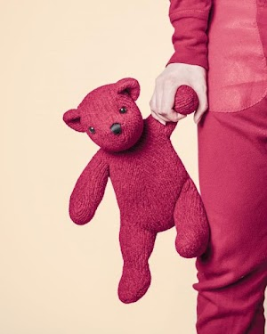 Boneka Teddy Bear Merah