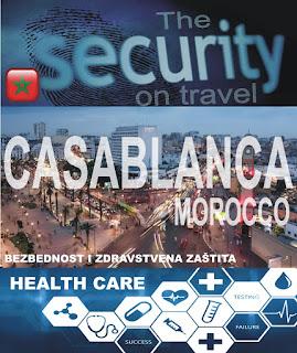 Kazablanka, Maroko – Bezbednost i zdravstvena zaštita