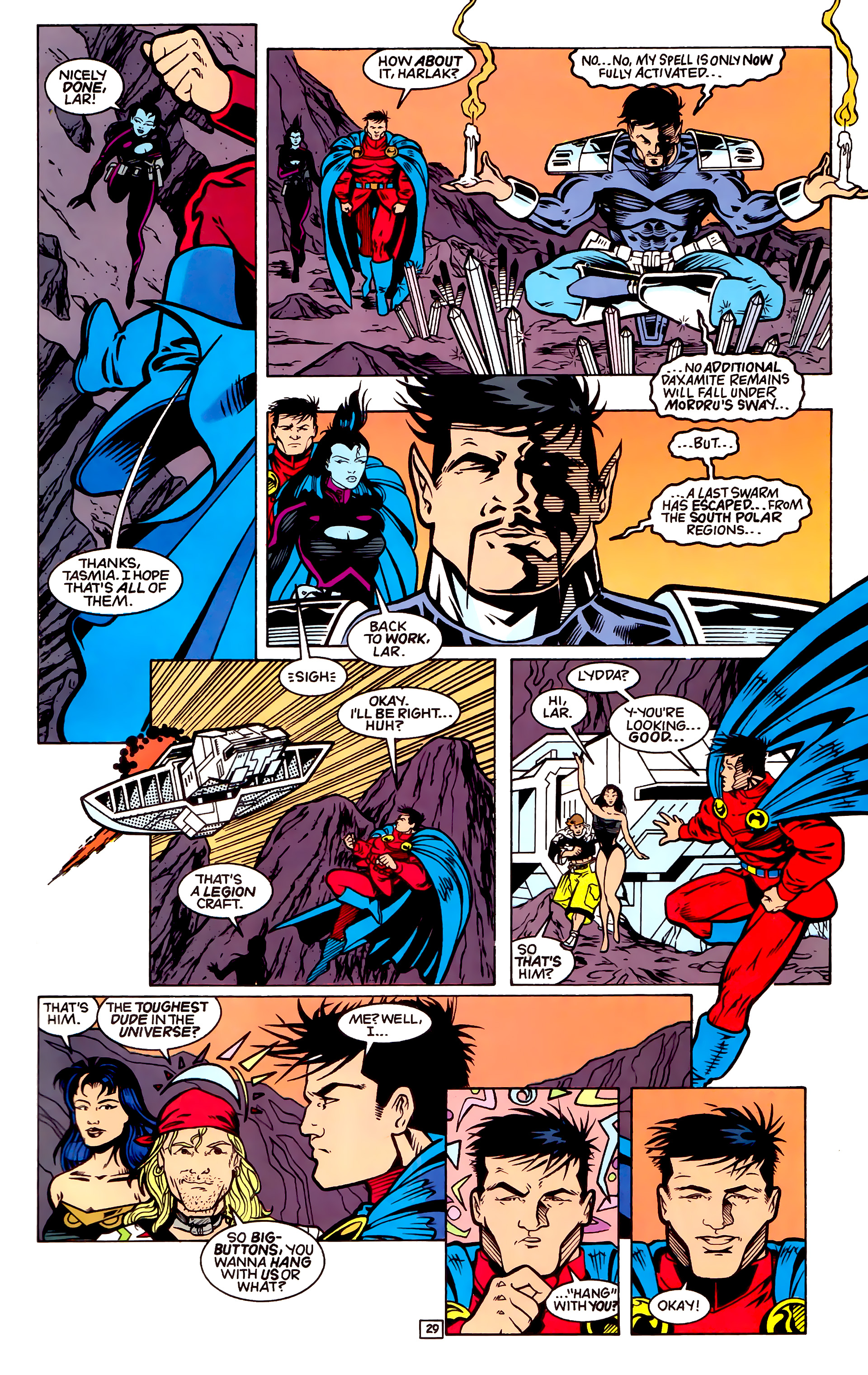 Legion of Super-Heroes (1989) _Annual_4 Page 29