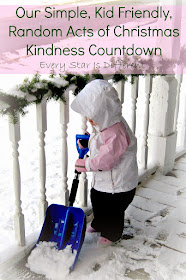 Budget Friendly Random Acts of Christmas Kindness for Young Children