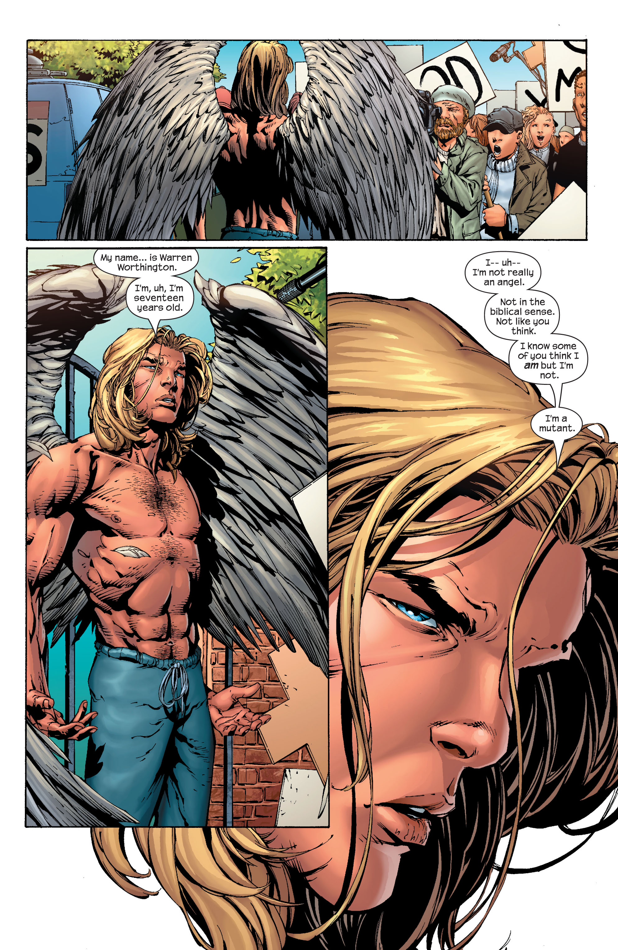 Read online Ultimate X-Men comic -  Issue #40 - 20