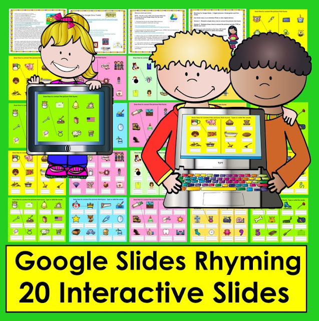 https://www.teacherspayteachers.com/Product/Google-Slides-Digital-Rhyming-Activities-Kindergarten-First-Grade-TptDigital-2911289