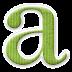 Alfabeto de Colores con Rayas.